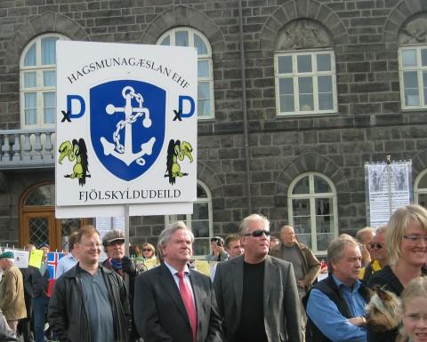 Davíð og hagsmunagæslan